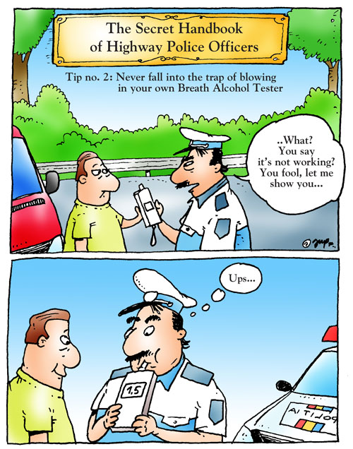 Cartoonists go nuts on alcohol