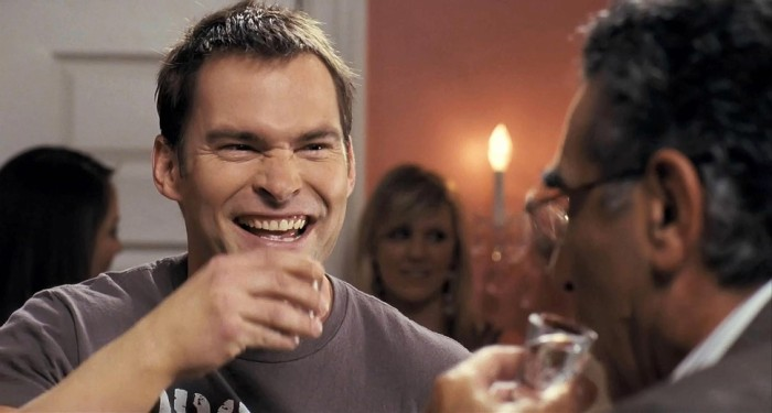 Steve Stifler from American Pie; not always lucky with the ladies or with what he drinks, but for sure this guy knows how to party.