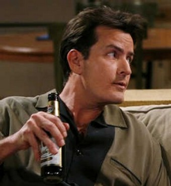 Charlie Harper from two and a half men; a true role model for every guy who likes drinking and women.