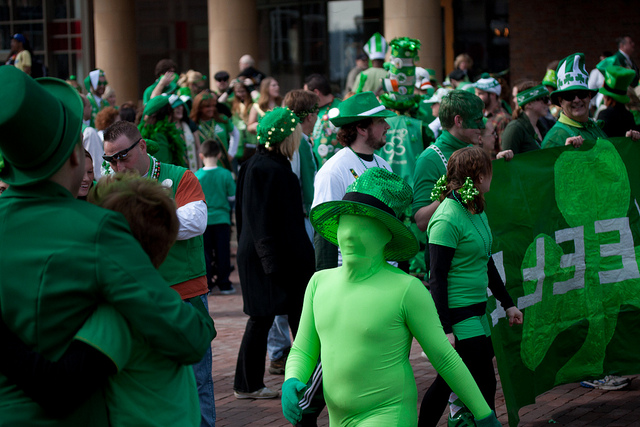 This weekend find yourself an Irish crowd and celebrate St. Patrick's Day.