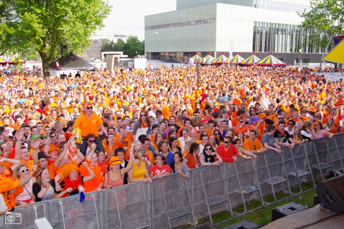 Eindhoven has a pretty big party too on Queen's Day.