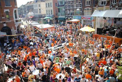 Downtown Nijmegen.
