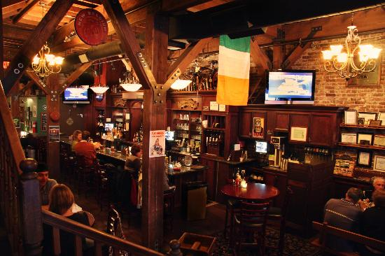 The best plans are made at the bar of an Irish pub.