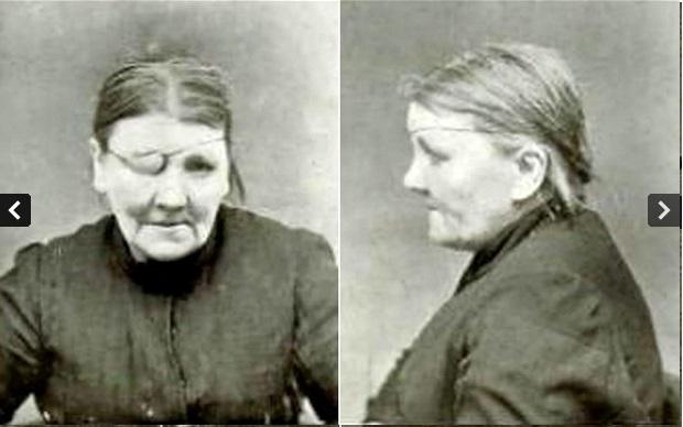 One-eyed Kate Kibble was on the black list of Birmingham.