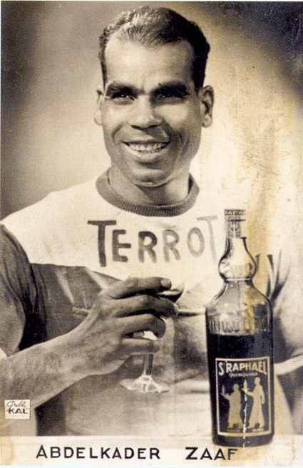 Abdelkader Zaaf got famous for his drunk performance during the Tour de France.