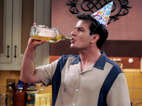 LOTD's Two and a Half Men Drinking Game will get you hammered.