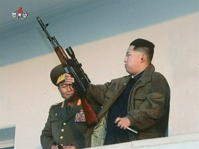 Kim Jong-Un is keeping it real.
