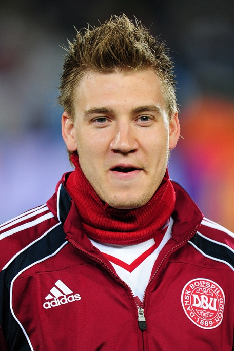 Nicklas Bendtner in more sober days.
