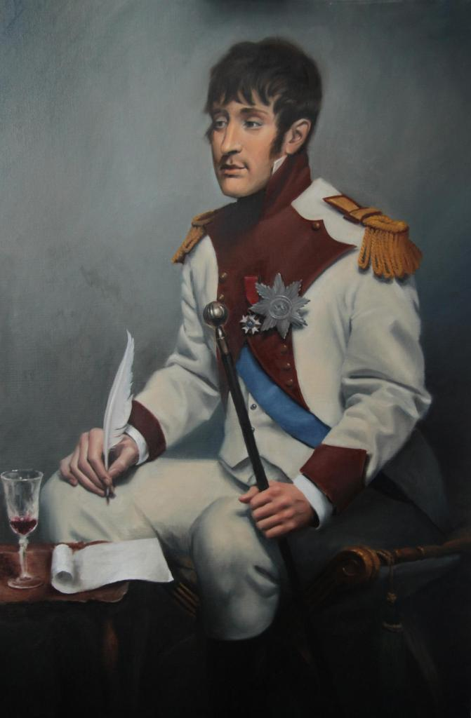 Louis Napoleon, the first Dutch king and guardian angel of the drunks in Holland.