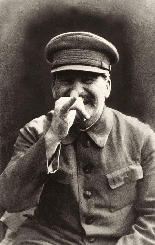 Jozef Stalin was always up for a drink.