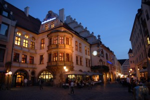 The Hofbräuhaus.