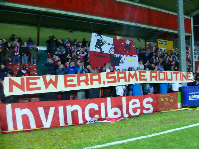 Nice flag by the Irish side St. Patrick's Athletic F.C.