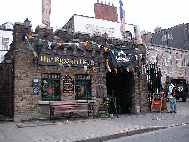 The Brazen Head in Dublin (Ireland) is one of the oldest 22 bars in Europe.