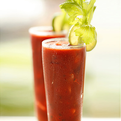 One of the most famous hangover cure cocktails: the Bloody Mary.