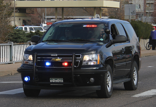 With unmarked cop cars like this one it's easy to make a mistake.