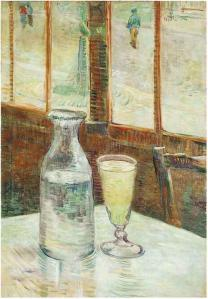 Van Gogh's painting A Still Life with Absinthe.