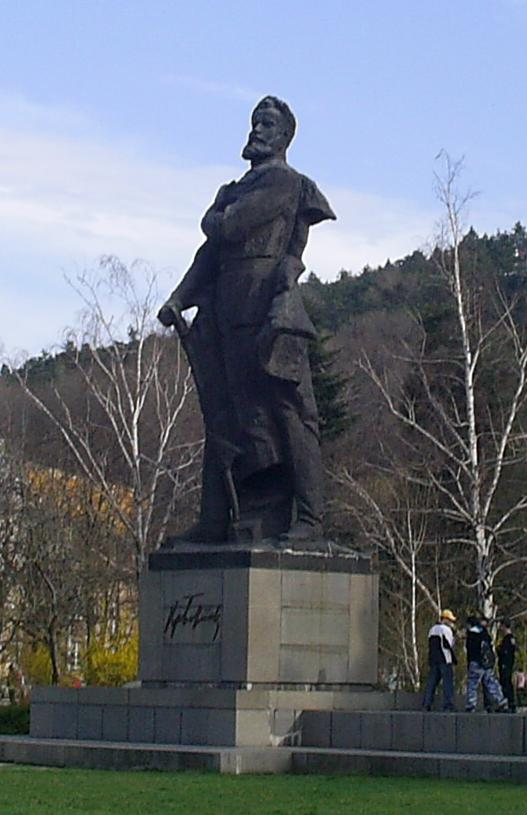 Hristo Botev is still a national hero in Bulgaria.