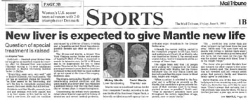 Image result for mickey mantle drunk