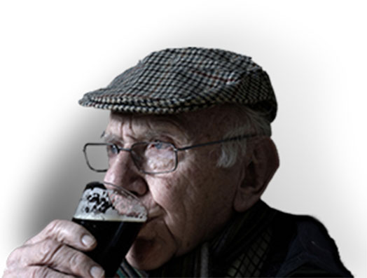 Drinking on an older age can prevent memory loss.