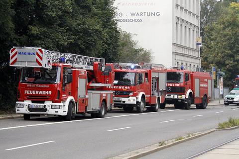 The fire department of Chemnitz to the rescue.