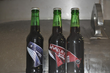 Icelandic winter beer, made from whale testicles.