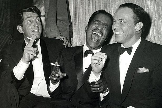 The famous Rat-Pack (from left to right Dean Martin, Sammy Davis Jr. and Frank Sinatra) had plenty of famous drinking quotes.