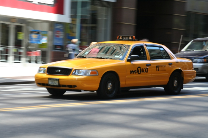"It's not always a good idea to ""take a cab"" when you're drunk."