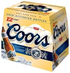 Coors 12 pack.