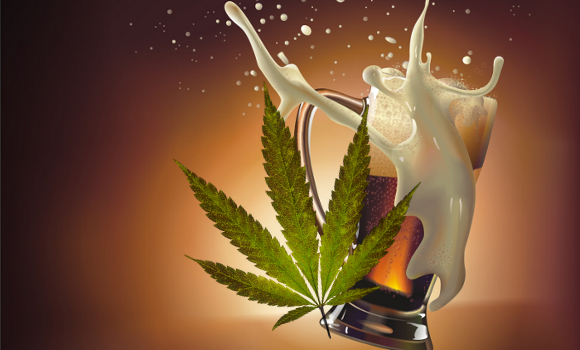 It's a scientific fact: a beer with your joint gets you higher.