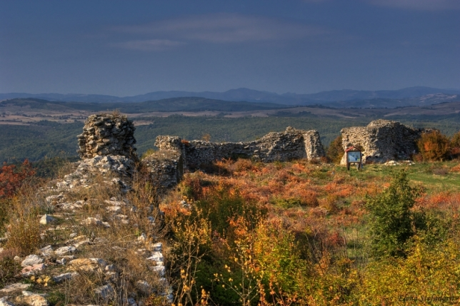The Lyutitsa fortress, where Bulgarian soldiers used to drink rakia before a fight.