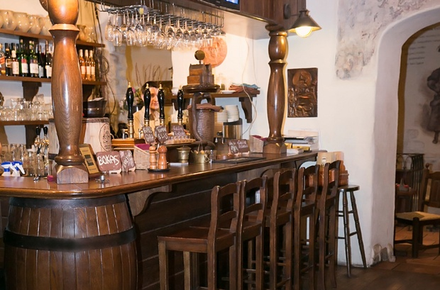 Many bars in the Lithuanian capital Vilnius serve the tasty national treasure farmhouse ale.