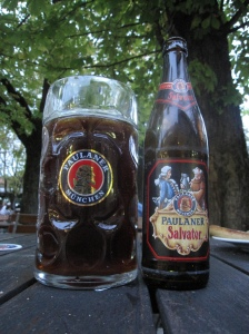 Modern day Paulaner Salvator still has more or less the same old recipe.